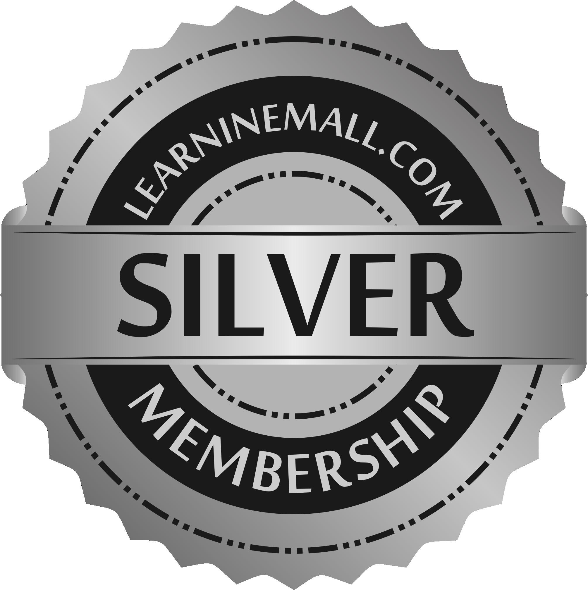 Learninemall Silver Membership Badge