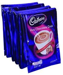 Cadbury Hot Chocolate Drink 3 in1 30g